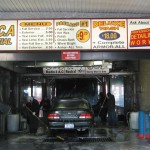 MCA Car Wash Menu
