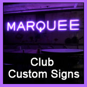 club custom signs