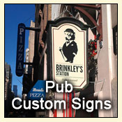 pub custom signs