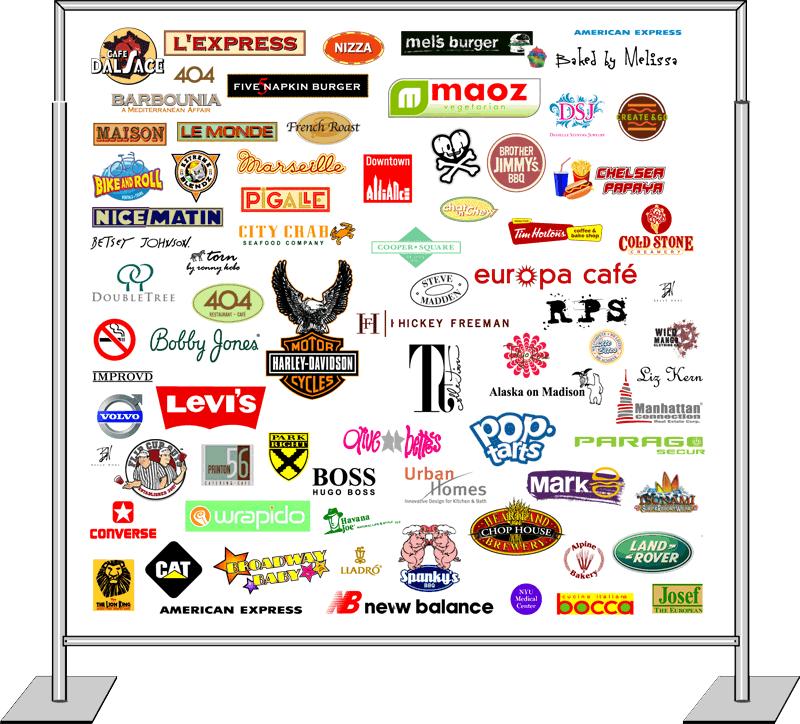 Custom Built Logos