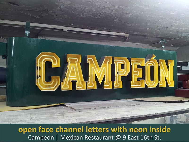 Custom Channel Letters Amp Lit Signs Custom Signs