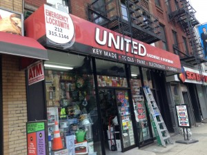 United Hardware 3D Letters