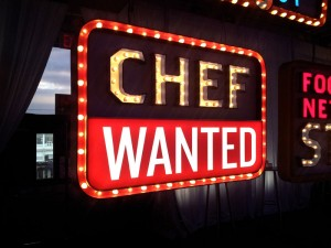 Chef Wanted Chanel Letters