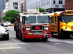 Fire Truck Chanel Letters