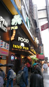Irish Pub Chanel Letters