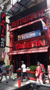 Restaurant Tavern Chanel Letters