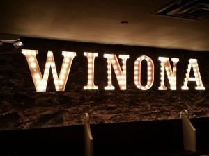 Winona Channel Letters