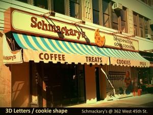 Schmackary's 3D Letters