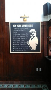 Beer Menu Board