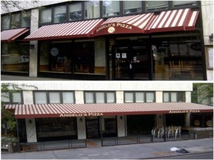 Angelo's Pizza Awning