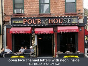 Village Pour House Awning