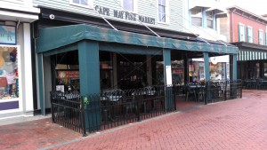 Cape May Fish Market Awning