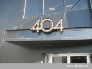 404 Channel Letters