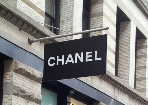Chanel Swing Sign