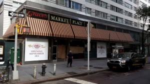 Graces Market Awning