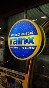 Rainx Light Box