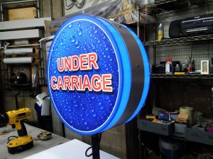 Under Carriage Light Box
