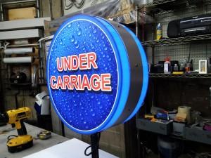 Under Carriage Light Box