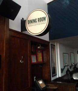 Dining Room Light Box
