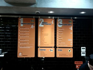 Noodles Menu Board