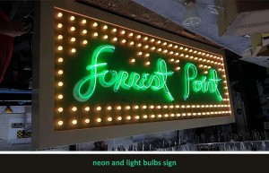 Forrest Point Neon Sign