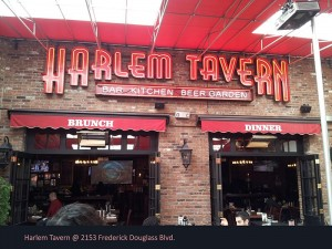 Harlem Tavern Neon Letters