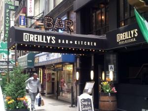 Bar O'Reillys Awning