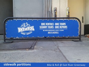 Bike & Roll Partition
