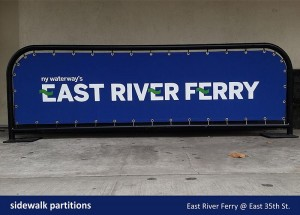 East River Ferry Partition