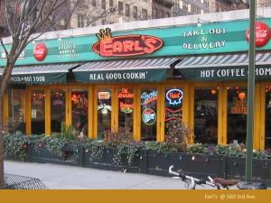 Earl's Retro Sign