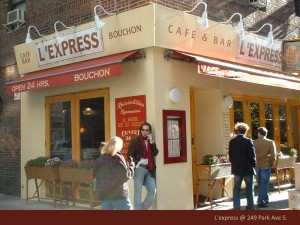L'express Retro Sign