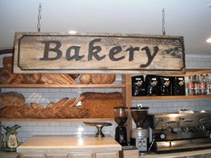 Bakery Retro Sign