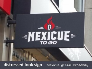 Mexicue Swing Sign