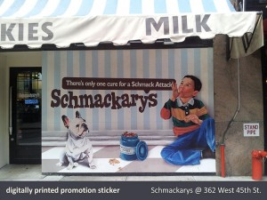 Schmackary's Window Sticker
