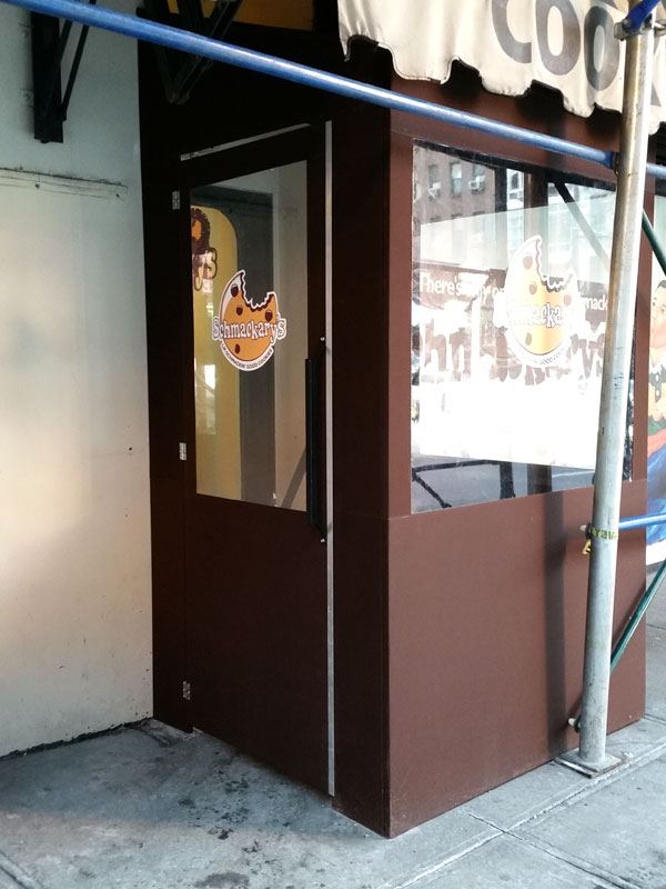 Custom Vestibules Custom Signs